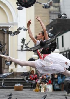 Arianna Crosato y el ballet