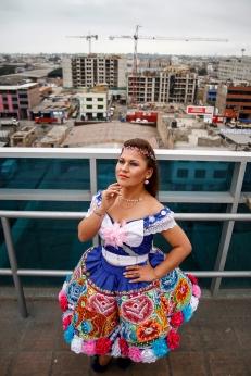 Rosita Sandoval - cantante foklorica